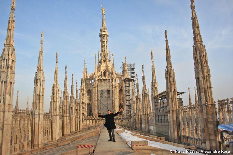 Popolare TravelPics.fr – Il Duomo de Milan – la plus grande cathédrale  ZM14